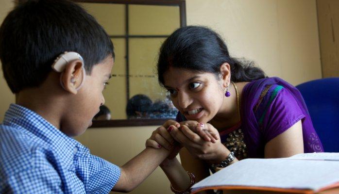 learning for deaf children