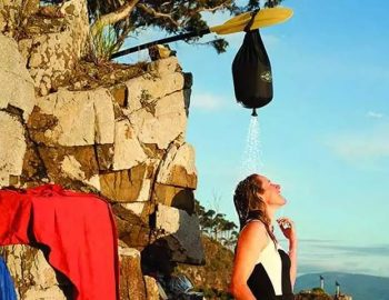 Stop Camping Like a Caveman With Joolca's Portable Camping Shower